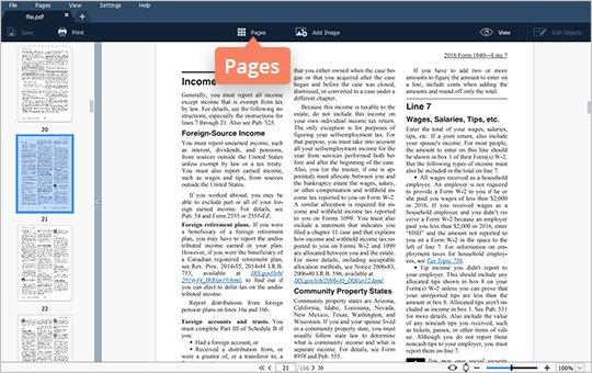 Split PDF File in Page Mode