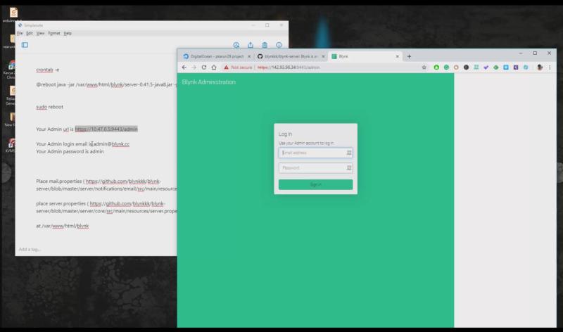 blynk server installing on vps